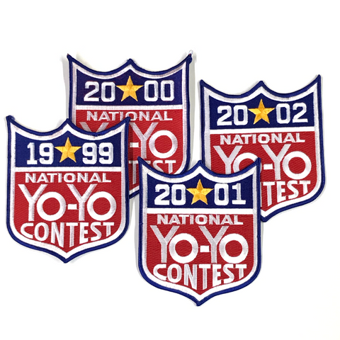 National Yo-Yo Contest Patch 6 inch