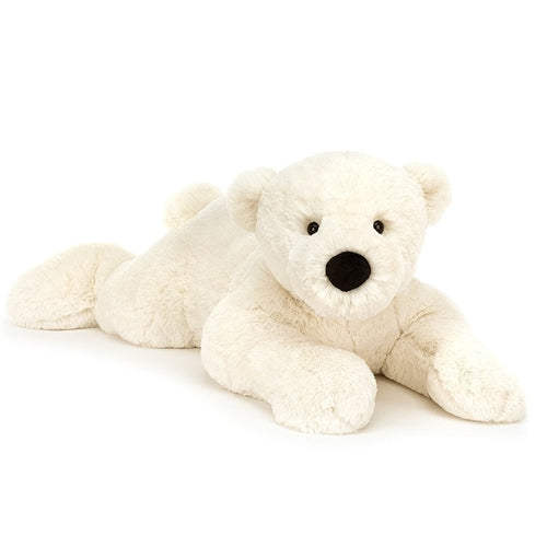Jellycat Perry Polar Bear - Laying Down