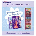 Paper Fashion Fancy: Extra Stuff by Klutz