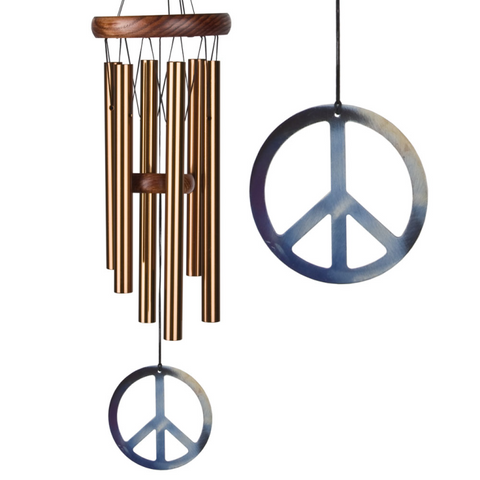 Peace Chime - Small, Bronze