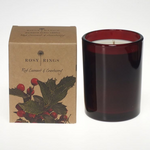 Red Currant and Cranberry Botanica Glass Candle