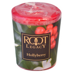 Root Candles - Hollyberry Votive