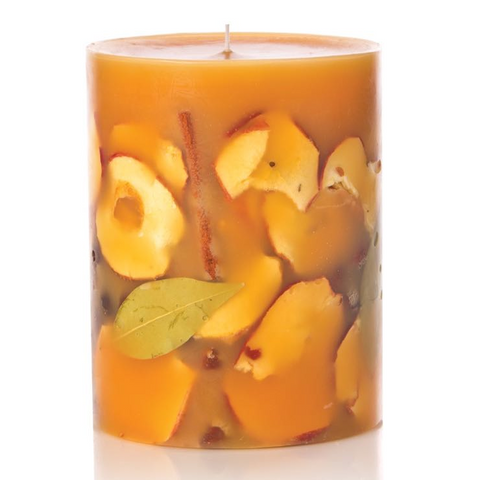 Rosy Rings Spicy Apple Botanical Candle - 9.5""