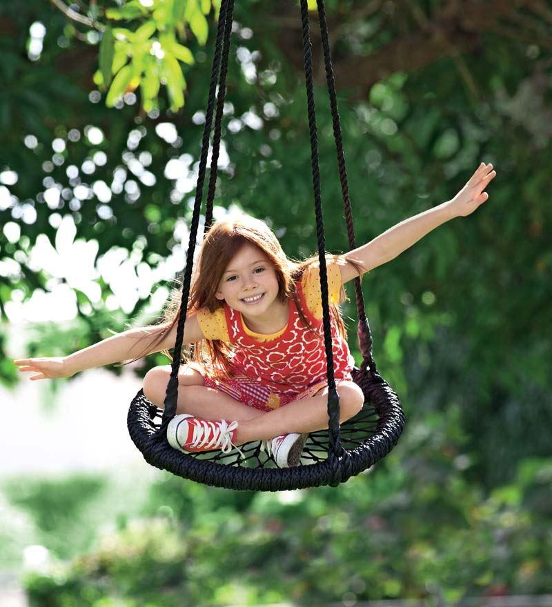 Round-and-Round-Swing™ with Nylon Rope