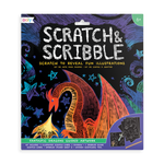 Scratch and Scribble Scratch Art Kit - Fantastic Dragons