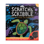 Scratch and Scribble Scratch Art Kit - Ocean Life