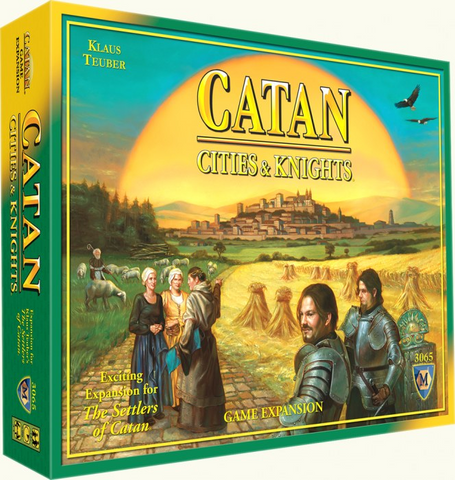 Settlers of Catan - Cities and Knights Expansion