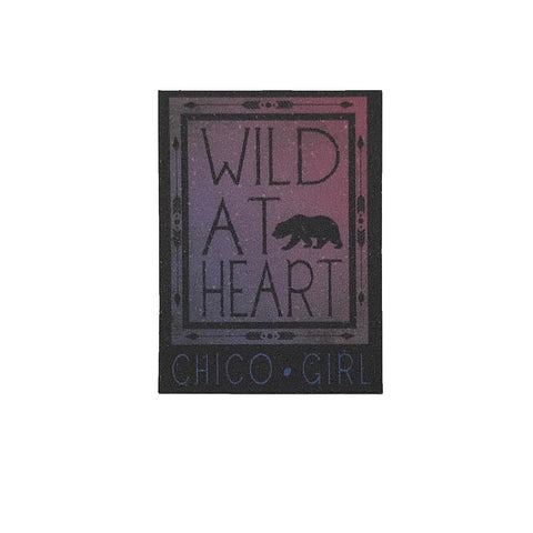 Sticker Mini Wild at Heart