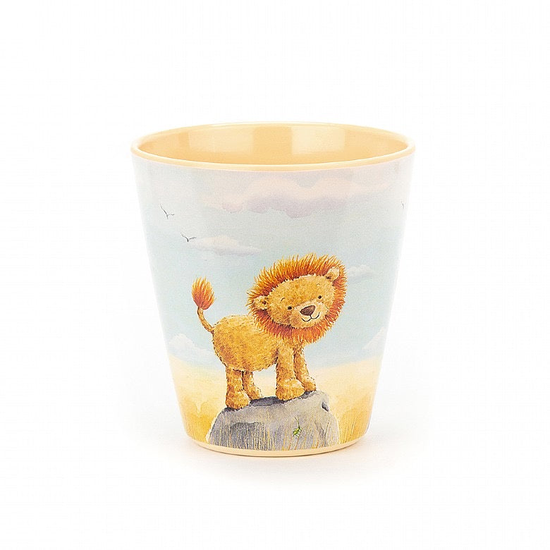 Jellycat Melamine Cup - The Very Brave Lion