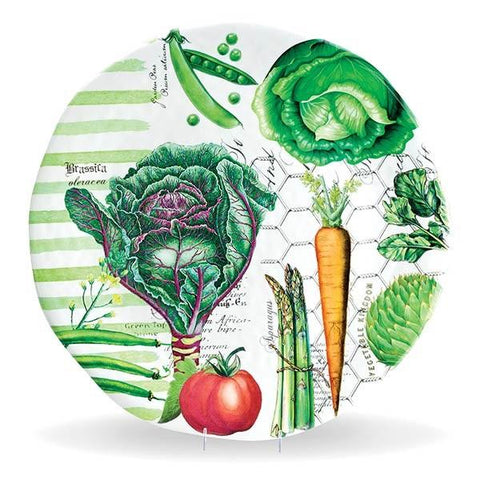 Vegetable Kingdom Large Round Serveware Platter