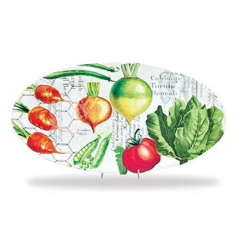 Vegetable Kingdom Oval Serveware Platter