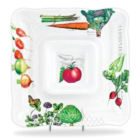 Vegetable Kingdom Serveware Chip and Dip