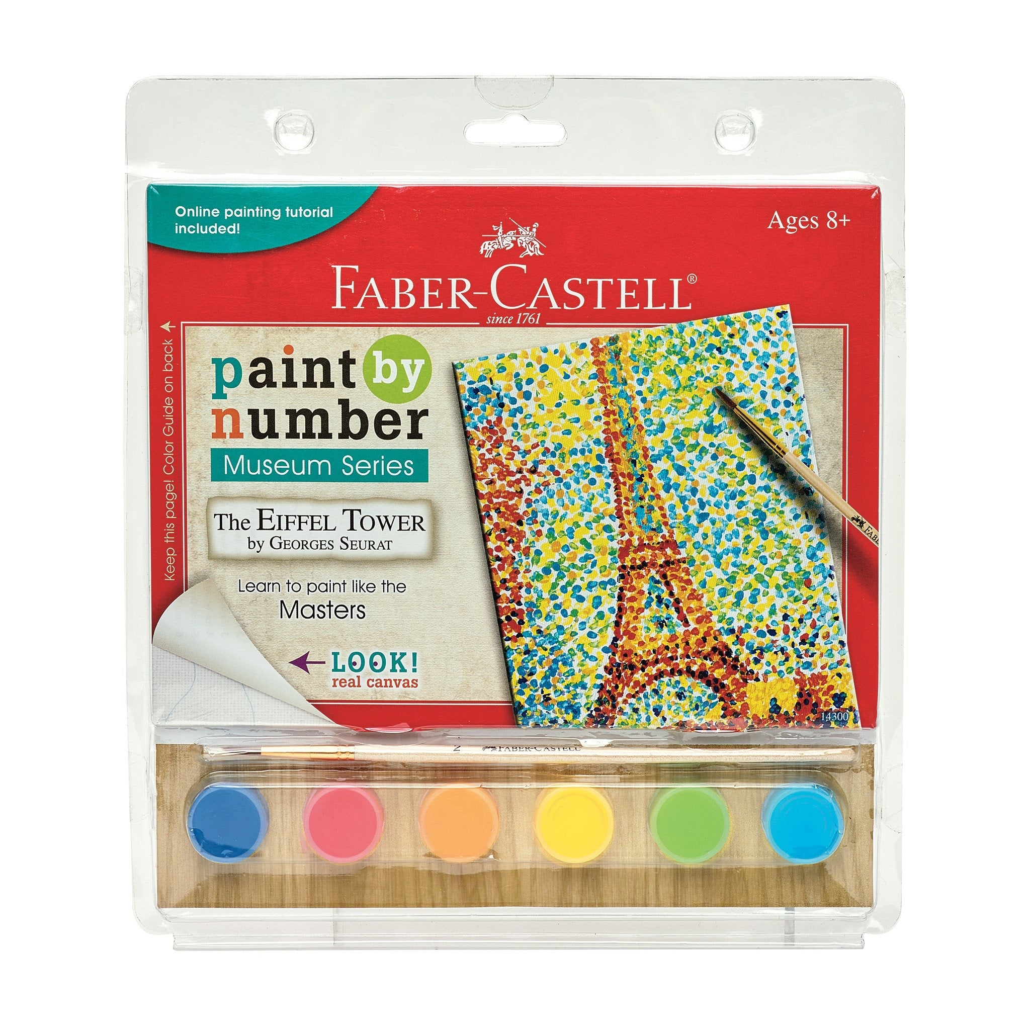 Paint By Numbers - The Eiffel Tower Seurat