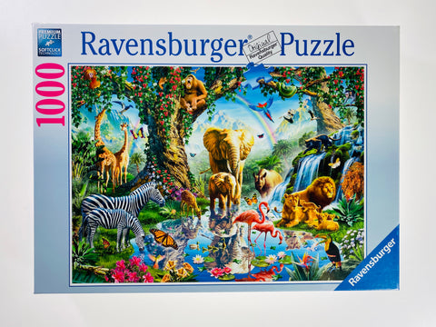 Adventure in the Jungle 1000 piece puzzle