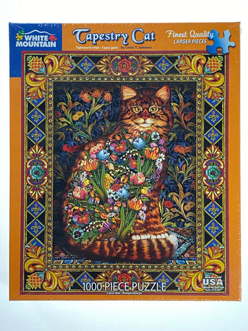Tapestry Cat 1000 piece puzzle