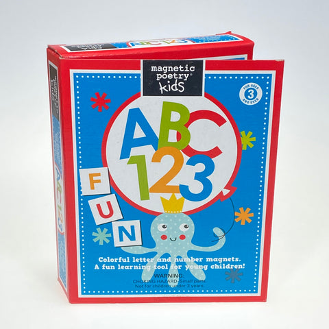 Magnetic Poetry Kids ABC 123