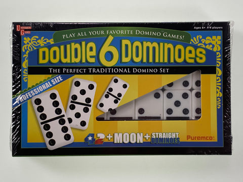 Double 6 Dominoes Professional Size