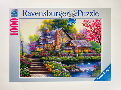 Romantic Cottage 1000 piece puzzle