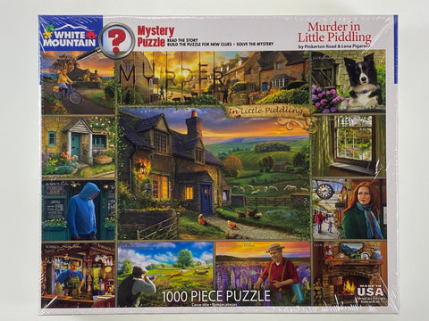 Murder at Little Piddling 1000 piece puzzle