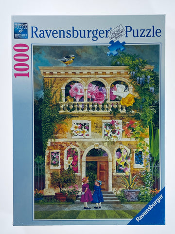 Colorful Garden 1000 piece puzzle