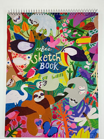 Sloth Sketch Book