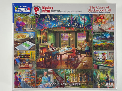 The Curse of Blackwood Hall 1000 piece puzzle