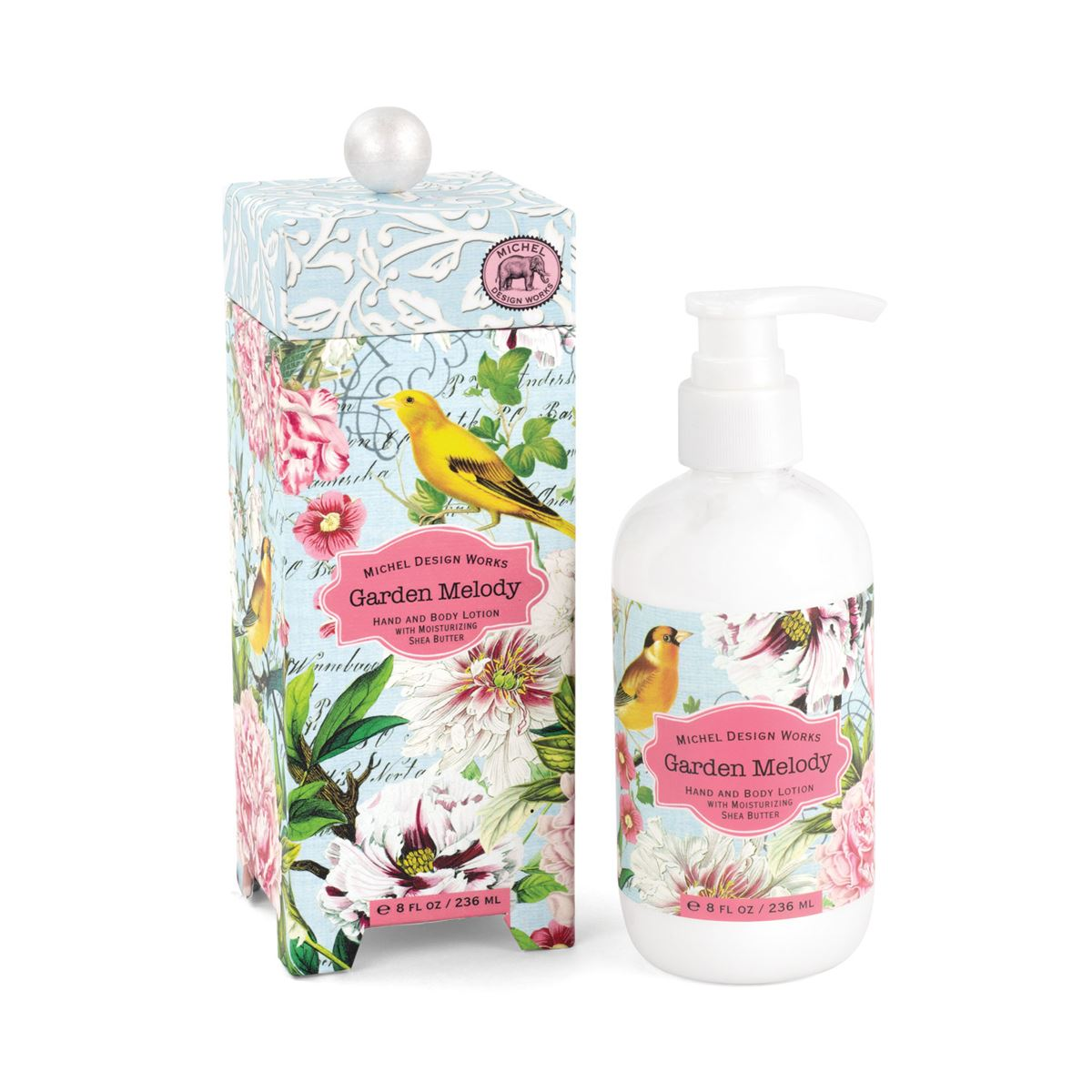 Garden Melody - Hand And Body Lotion With Shea Butter