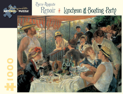 Luncheon Of The Boating Party - Renoir 1000 Piece Puzzle
