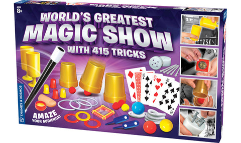 Worlds Greatest Magic Show - 415 Tricks