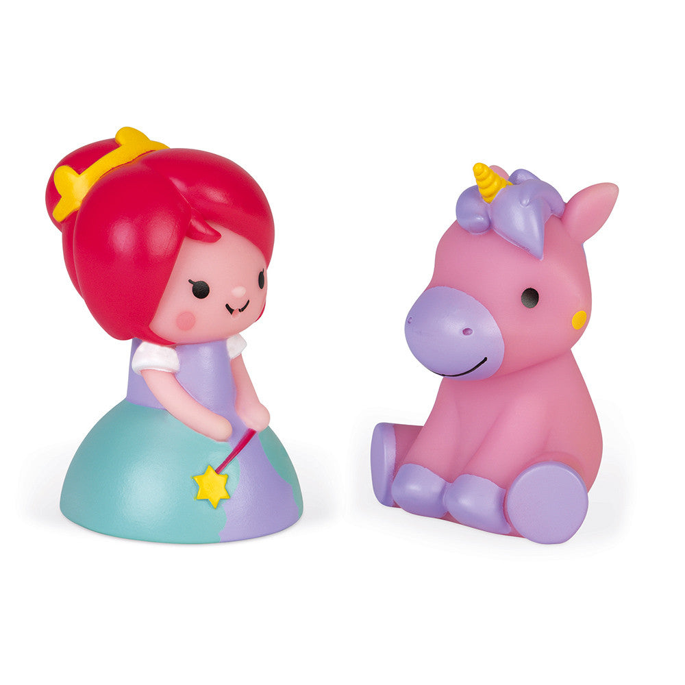 Light Up Bathtime Squirts - Princess and Unicorn