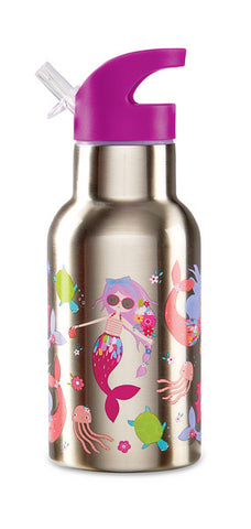 Water Bottle 13.5 oz - Mermaids