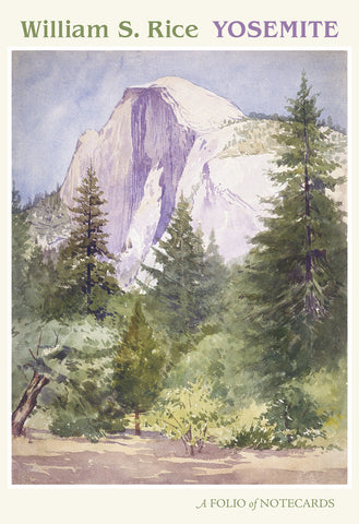 Yosemite - William S. Rice Assorted Notecard Folio
