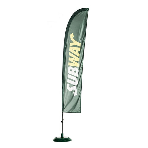 advertise with flags