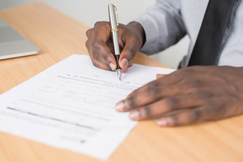 How to sign off a business letter