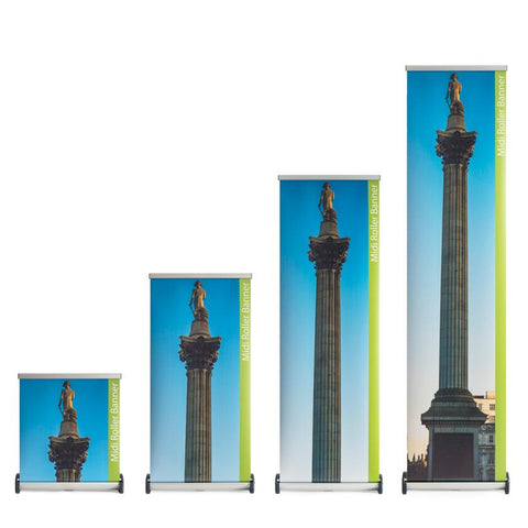 get a better deal on stand up banners