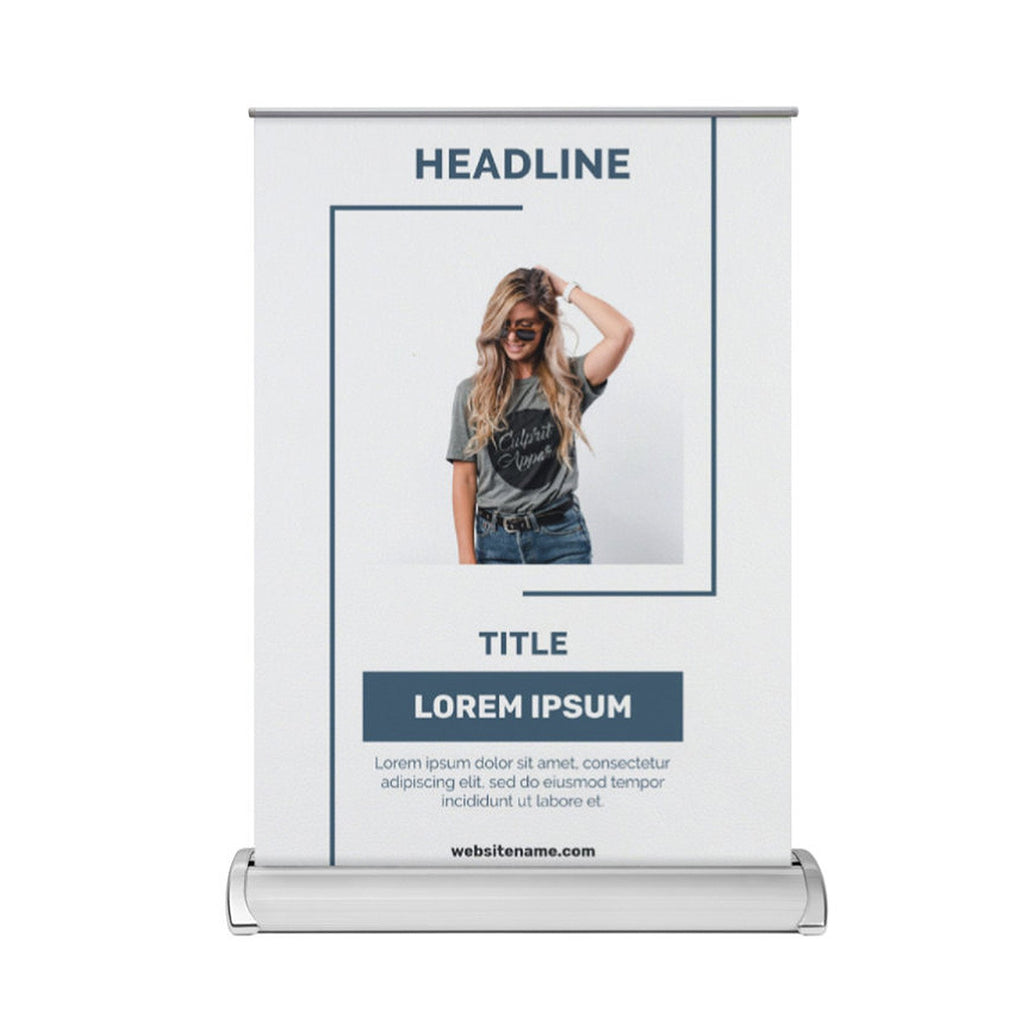 CYO Desktop Roller Banners - A3 Roller Banners (Casual)