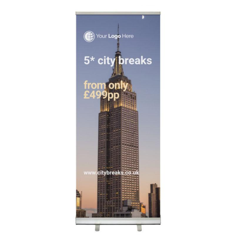 CYO Roller Banners - Standard Roller Banner (Picture)