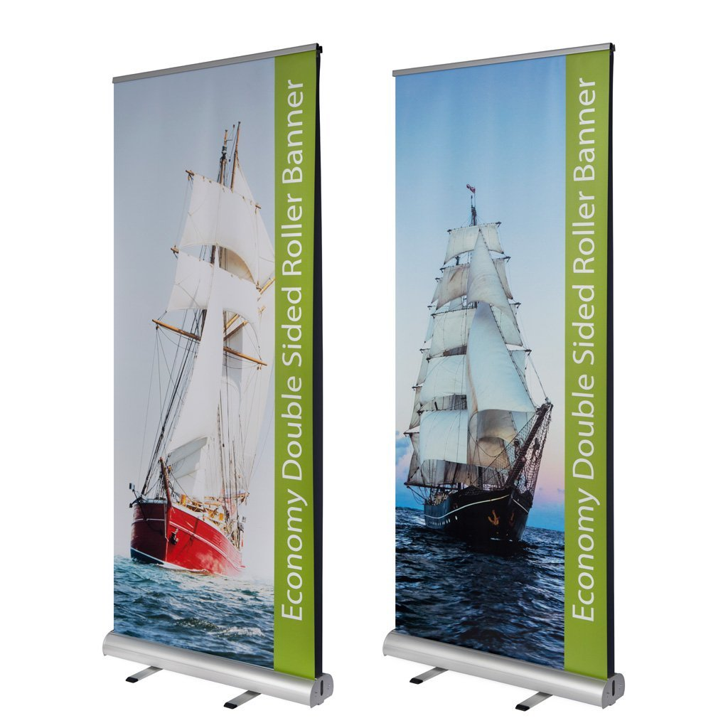 Double Sided Banners - Economy Double Sided Roller Banners