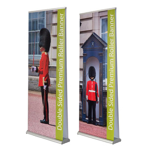 Double Sided Banners - Premium Double Sided Roller Banners