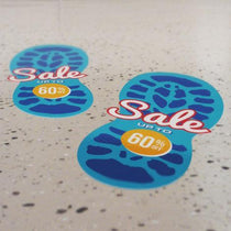 Exhibition Displays - CombiGrip Floor Stickers