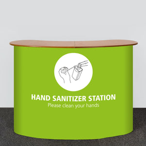 Exhibition Displays - Hand Sanitizing Station