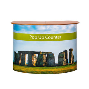 Exhibition Displays - Pop Up Counter Stand