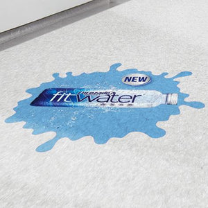 Exhibition Displays - ProGrip Floor Stickers