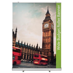 Wide Roller Banners - Wide Budget Roller Banners