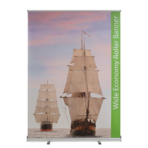 Wide Roller Banners - Wide Economy Roller Banners