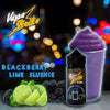 Vape Strike 100ml-Blackberry Lime Slushie