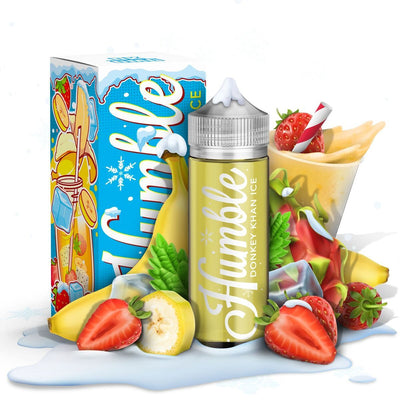 Humble Juice (Donkey Kahn ICE) E-liquid  (120mL)