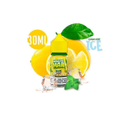 MINUTE MAN (LEMON MINT) ON ICE SALT