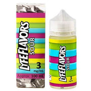 LYFE FLAVORS: SOUR -E LIQUID  100ml