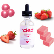 Naked Yummy Gum  100 E-liquid (60mL)